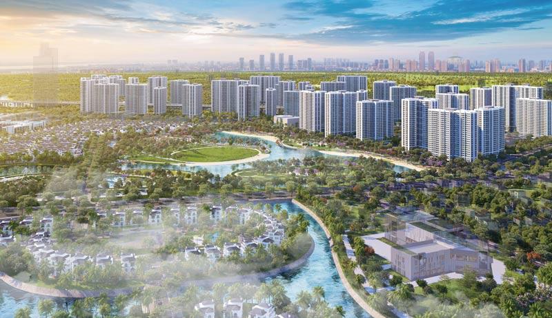 Vinhomes Grand Park - Thành phố công viên đầu tiên giữa Sài Gòn năng động