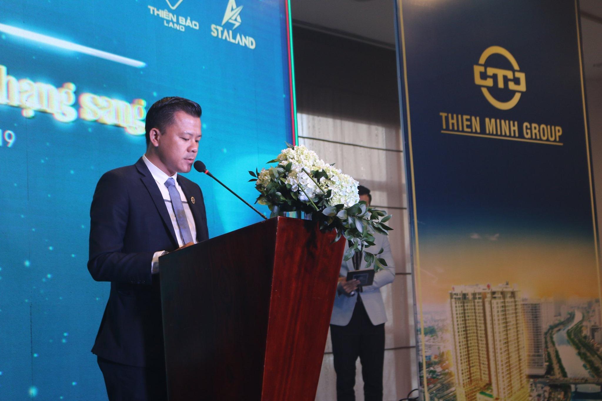 """Thiên Minh Group đã tổ chức sự kiện """"Cơ hội sở hữu văn phòng hạng sang Millennium"""", diễn ra trong không khí hân hoan, trang trọng tại Khách sạn 5 sao - Pullman Saigon Centre."""