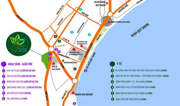 Dự án Green Home, Quy Nhơn