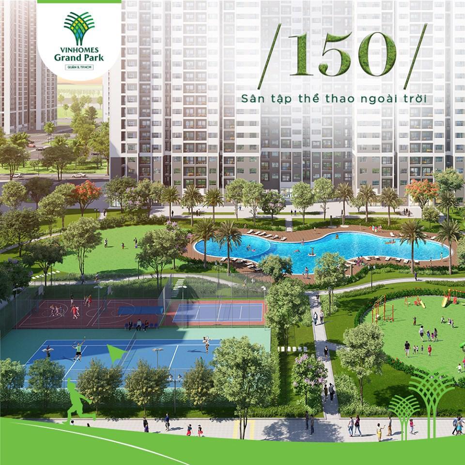 10.000 căn hộ tại Vinhomes Grand Park đã được bán hết, chỉ trong vòng 17 ngày kể từ khi ra mắt chính thức.