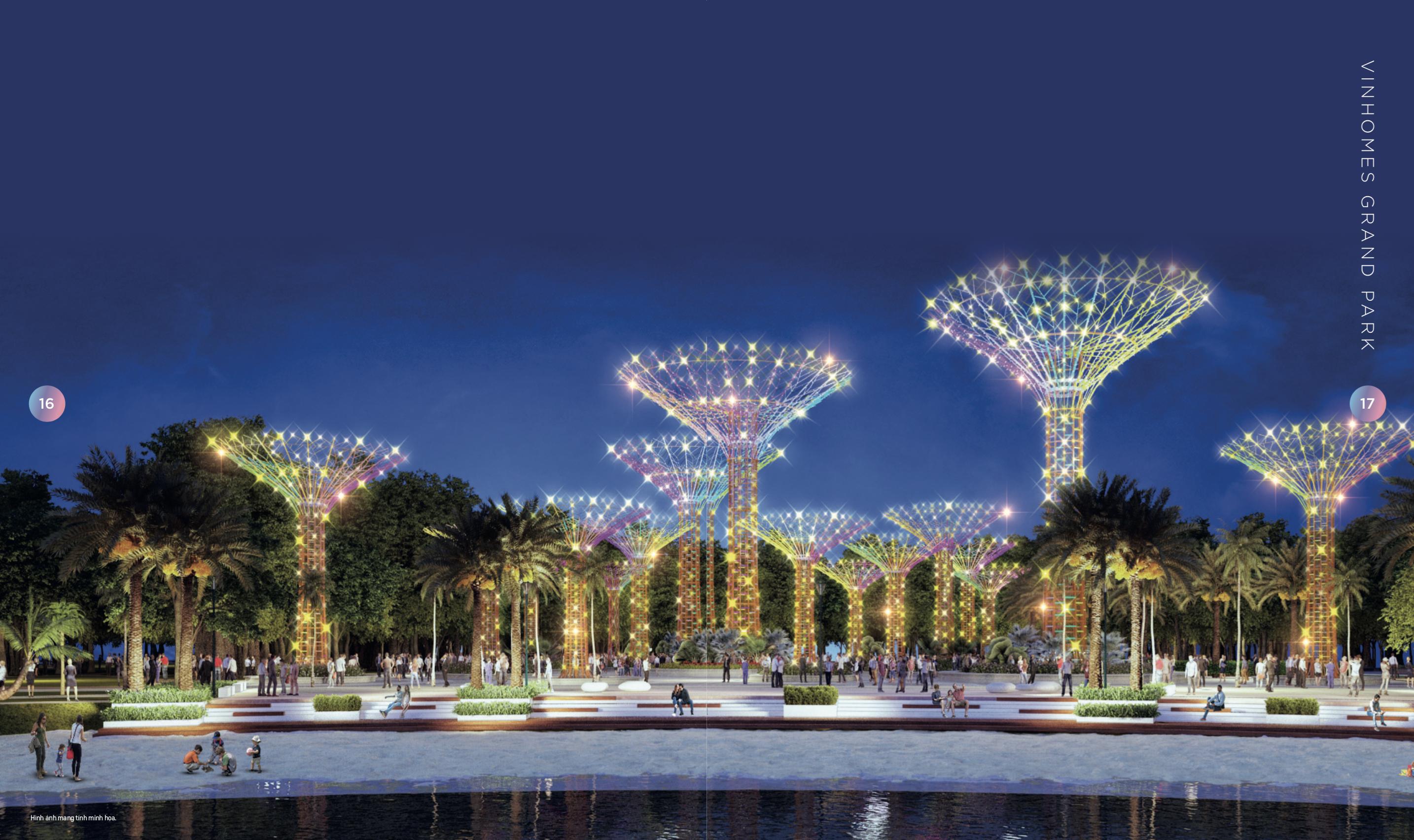 Ra mắt dự án 'Thành phố thông minh - công viên' Vinhomes Grand Park