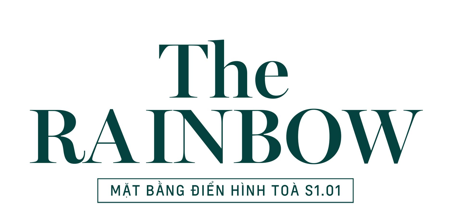 The Rainbow - Mặt bằng tòa S1.01