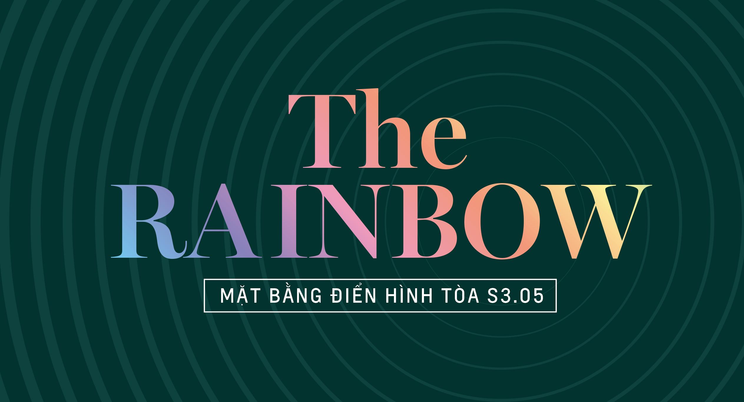 The Rainbow - Mặt bằng tòa S3.05
